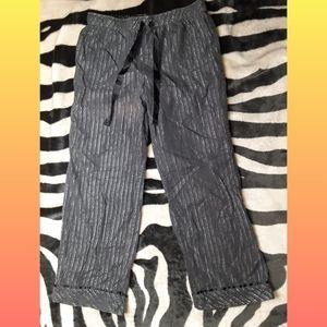 Silver stripe Pajama Pants
